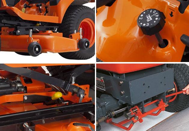 Kubota Kompakttraktor BX