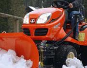 Rasentraktoren Schneeräumen